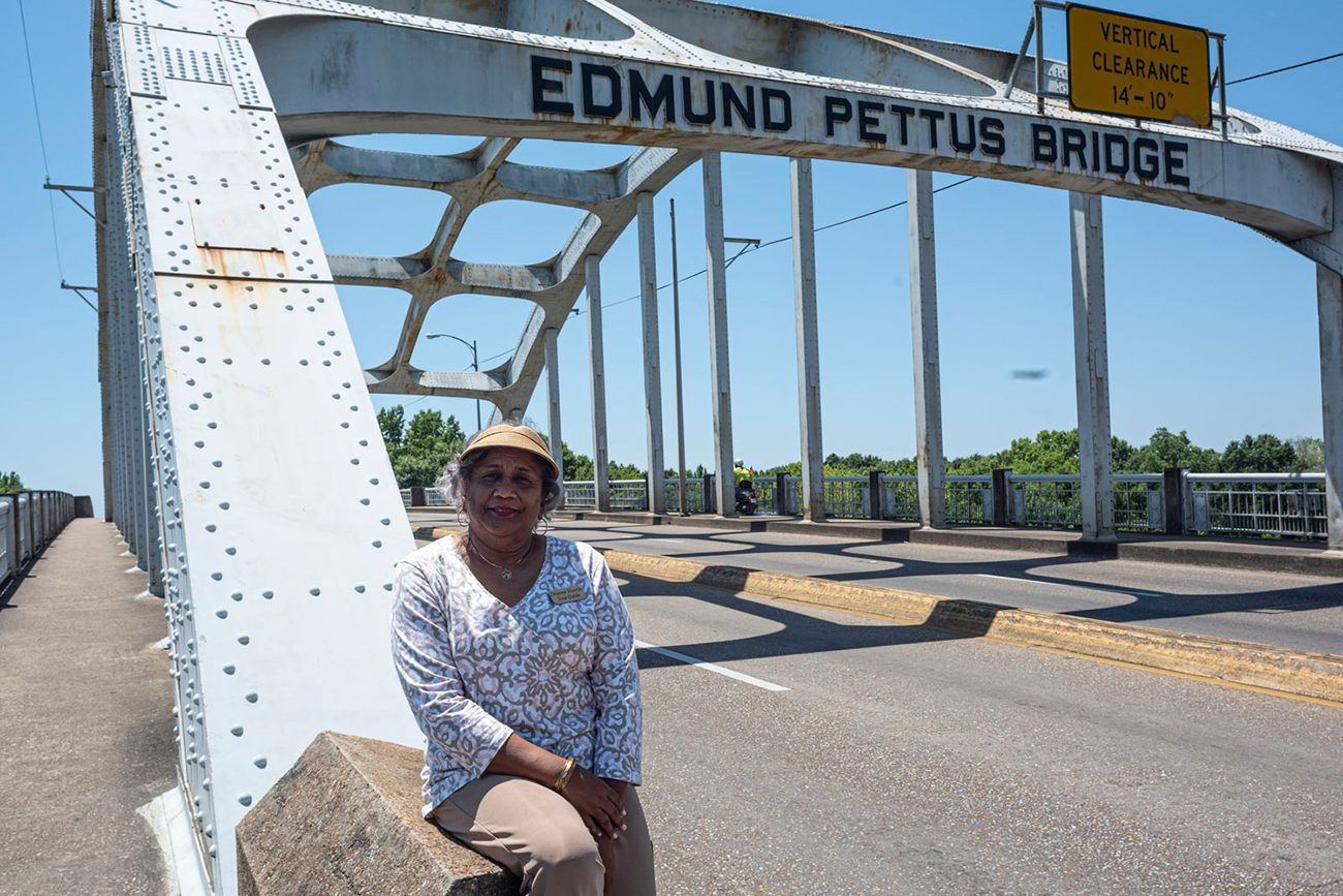 Civil Rights Trail - Dianne Harris in Selma