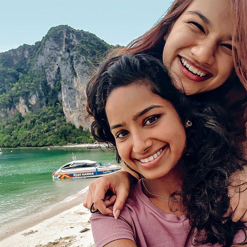 Shalabha Kalliath and Santra Navas in Thailand