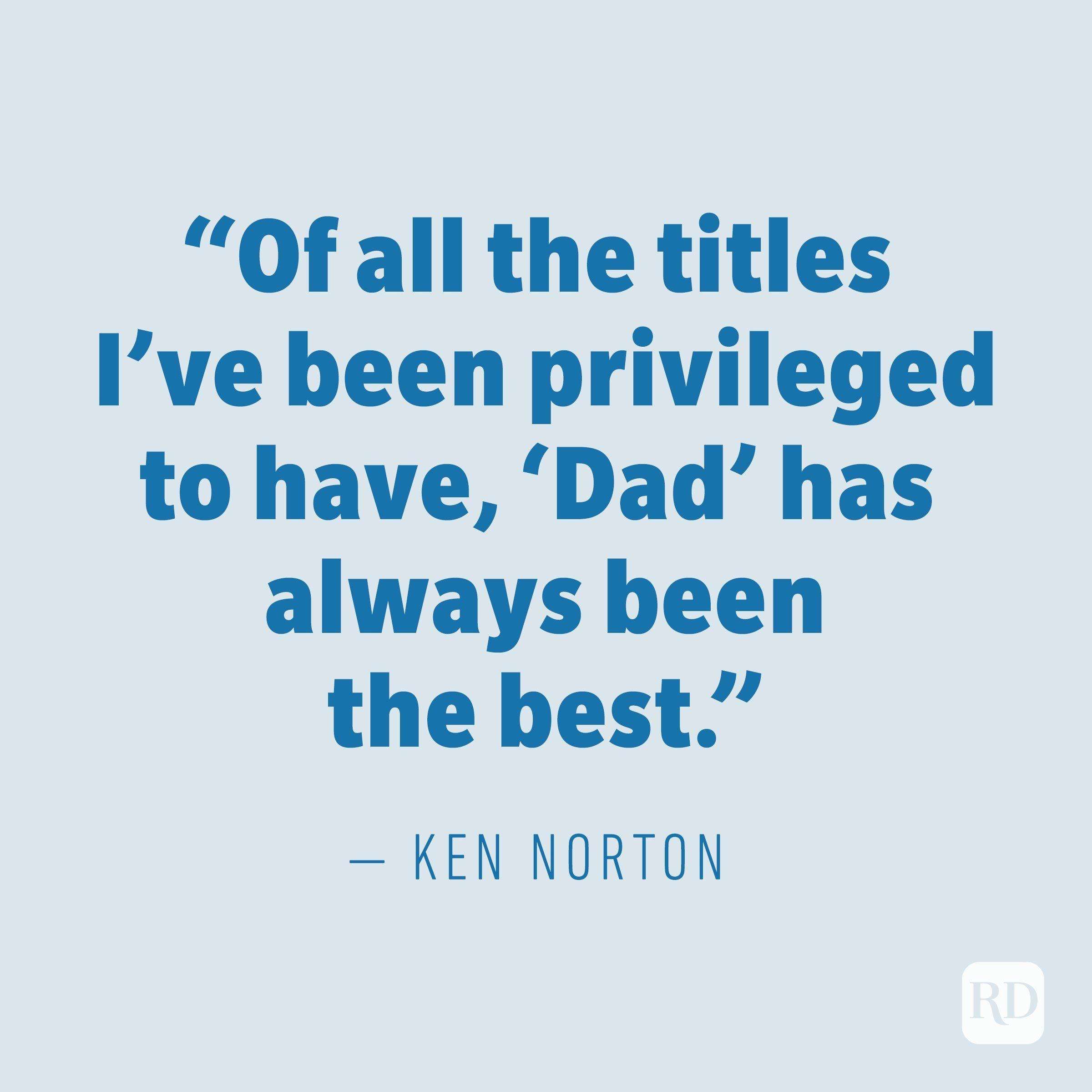 Ken Norton quote