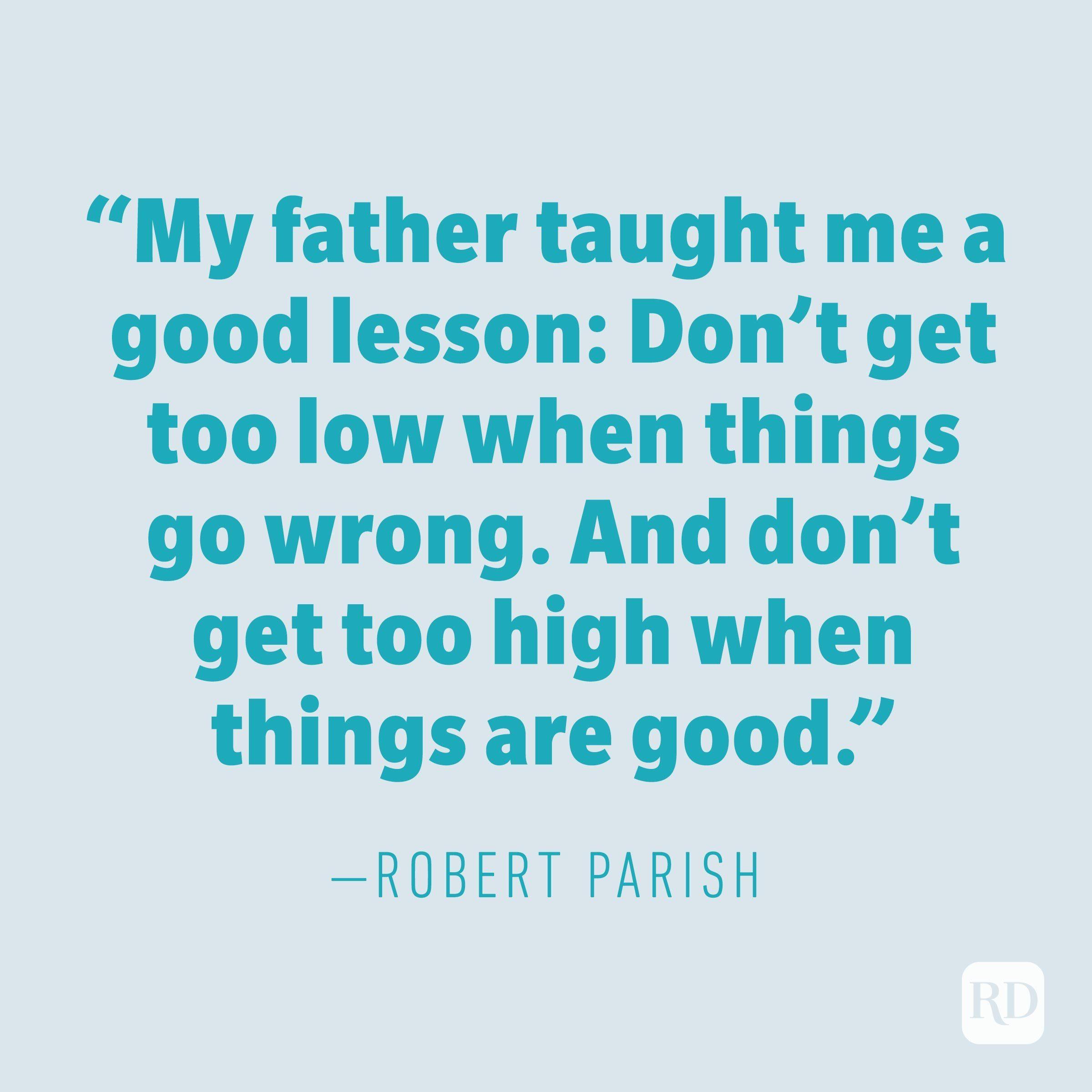 Robert Parish quote