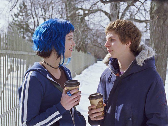 Films Set In Canada - Scott Pilgrim Vs The World Outside