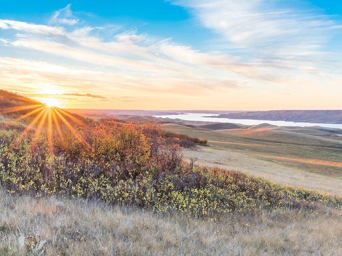 Fun facts about Canada - Saskatchewan Landing Provincial Park
