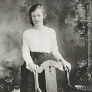 Dorothy May Duncan, aged 14 or 15
