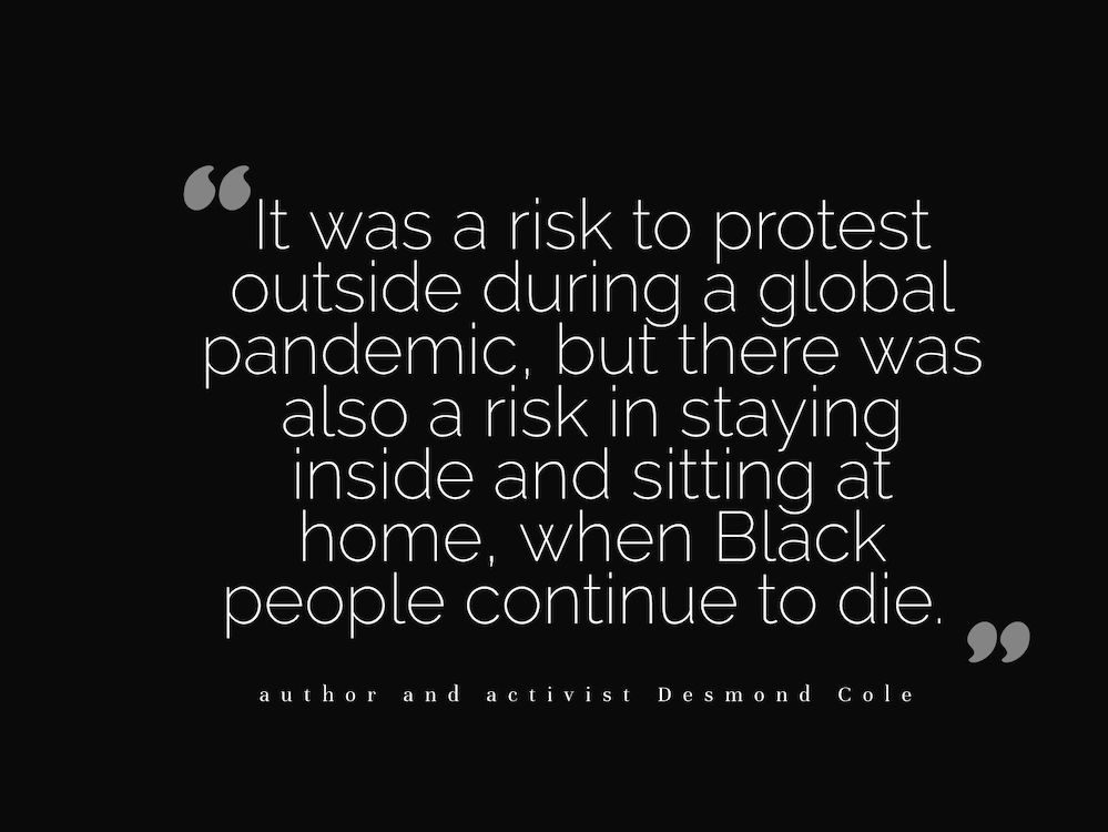 Black Lives Matter Protests - Desmond Cole