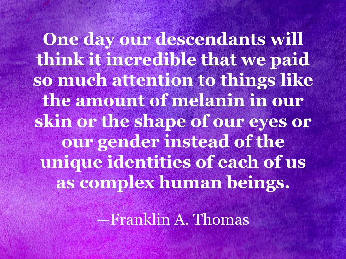 Franklin A. Thomas quote