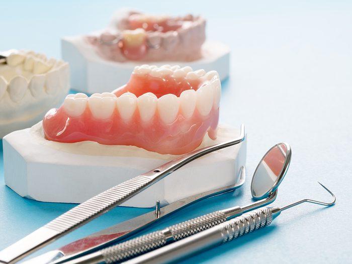 dental problems - dentures