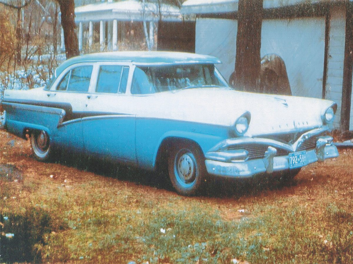 Patricia's 1956 Meteor, a.k.a. The Batmobile