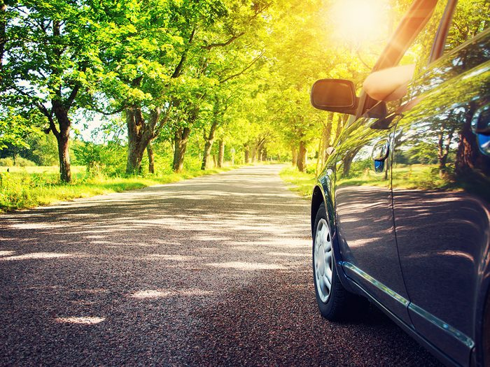Summer car hacks - driving in summer