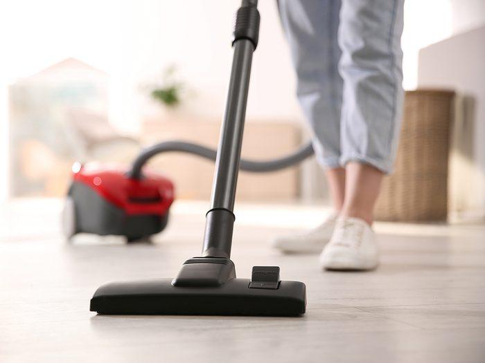 Vacumming Floor