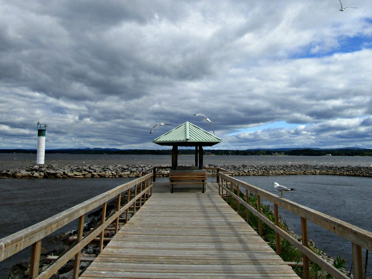 Pier in Petawawa, Ontario