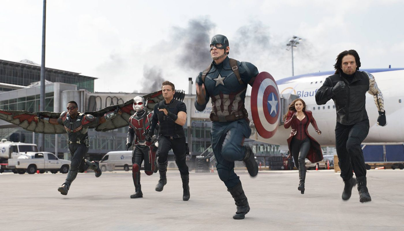 Best action movies on Netflix Canada - Captain America Civil War