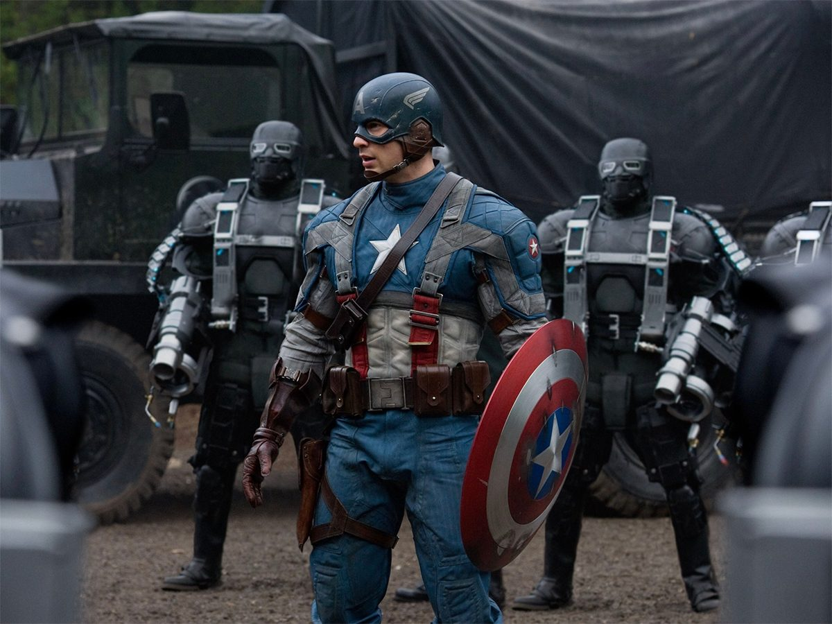 Best action movies on Netflix Canada - Captain America The First Avenger