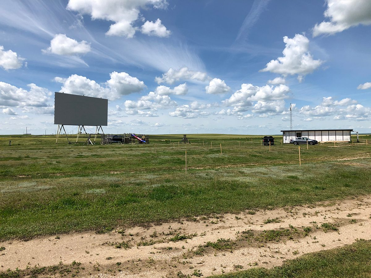 Best drive in theatres across Canada - Clearwater Drive In Saskatchewan