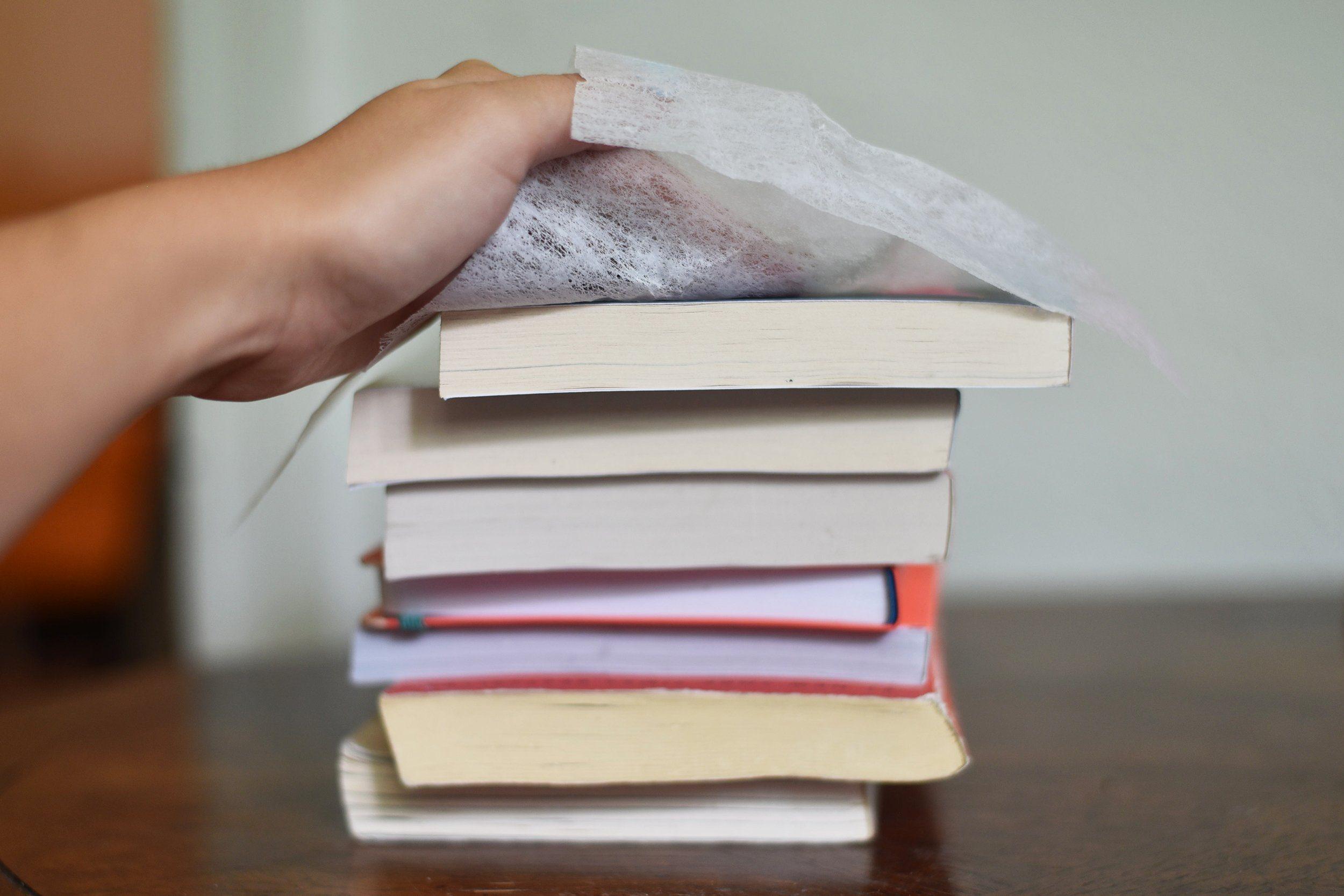 books dryer sheet uses