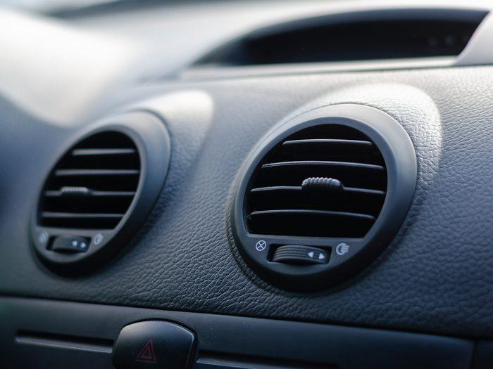 Cabin air filter - car vents