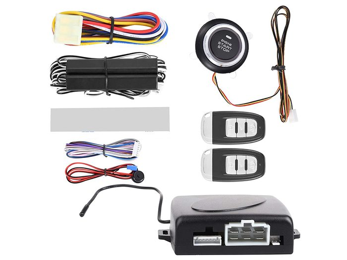 Car anti-theft devices - keyless entry security alarm system