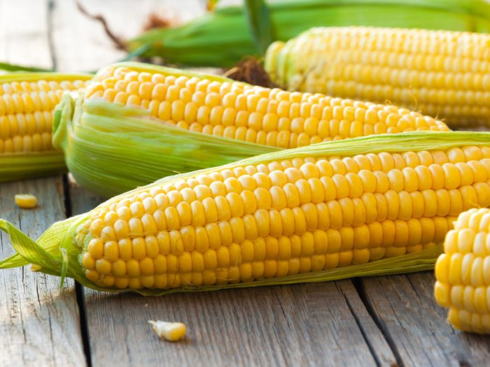 Food parts you should never throw out - corn on the cob