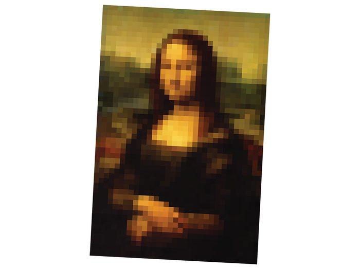 Funny technology tweets - digital Mona Lisa