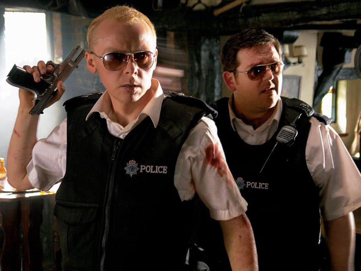 Best action movies on Netflix Canada - Hot Fuzz
