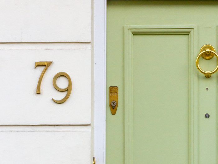 How to boost curb appeal - house numbers