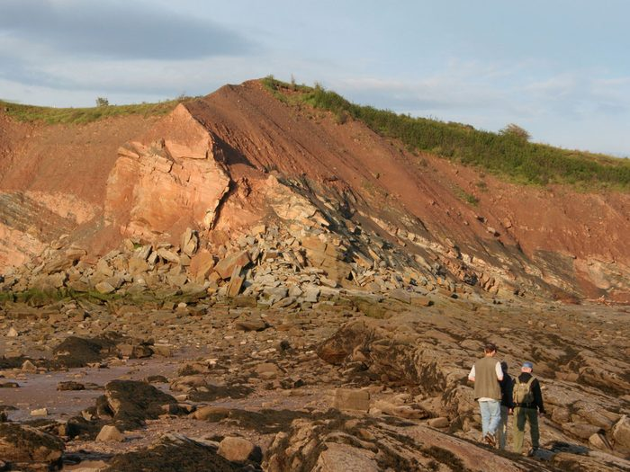 Canada geography facts - Joggins Fossil Cliffs, Nova Scotia