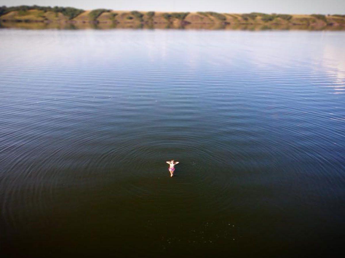 Canadian geography - Little Manitou Lake, Saskatchewan