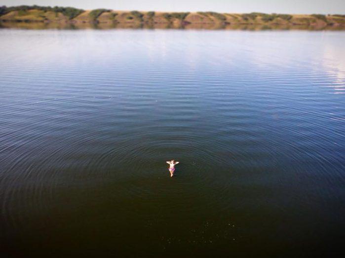 Canada geography facts - Little Manitou Lake, Saskatchewan