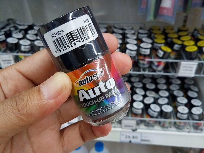 Paint chip repair - auto touch-up paint