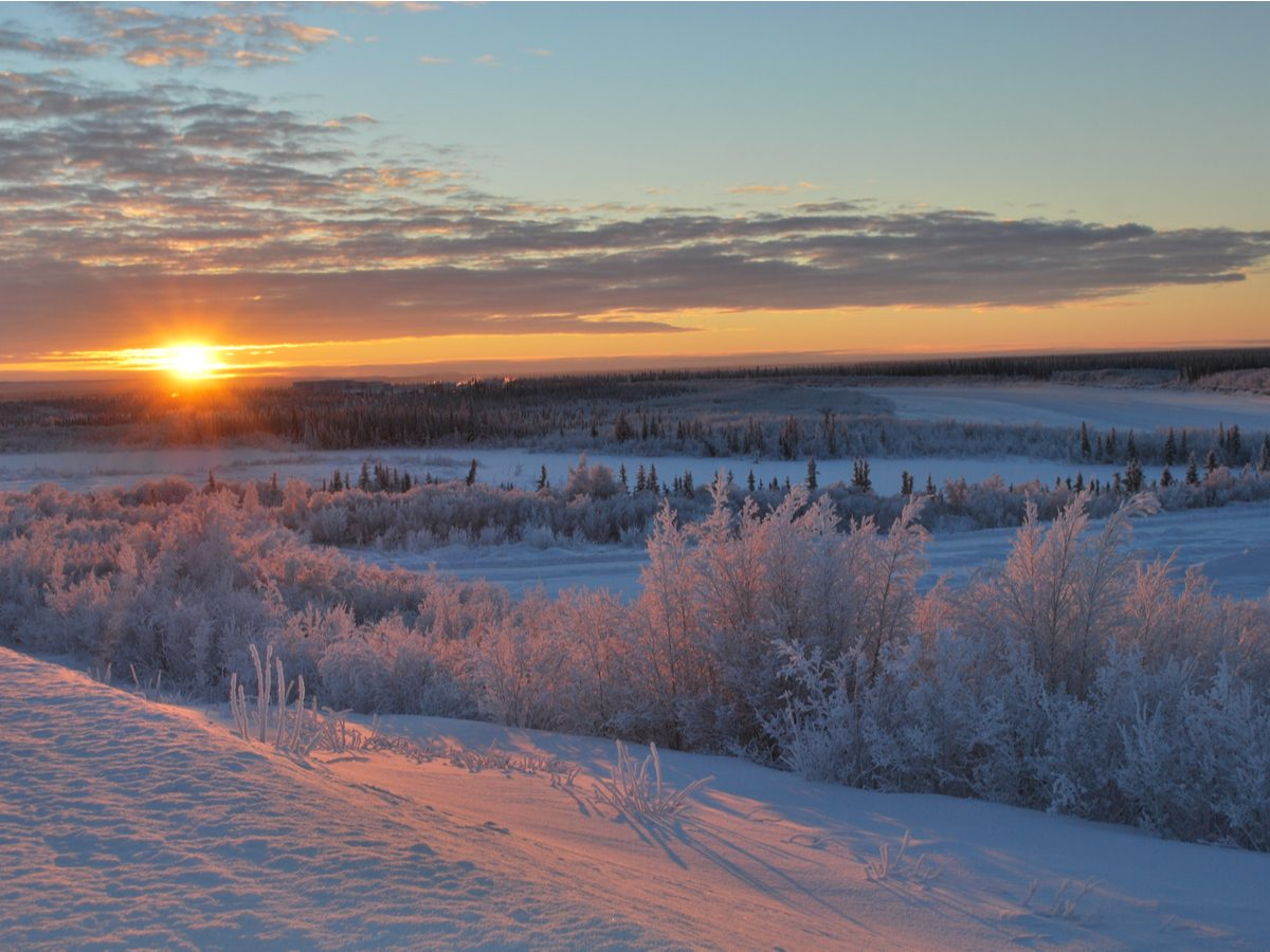 Northwest Territories landscape