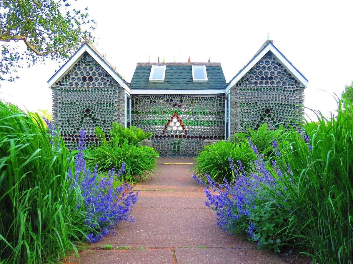 The Bottle Houses in Wellington, PEI