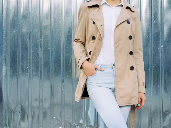 Light beige jacket