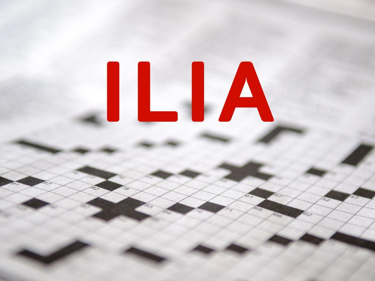 Crossword puzzle answers - Ilia
