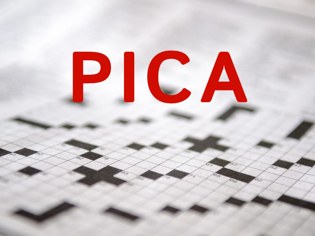 Crossword puzzle answers - Pica