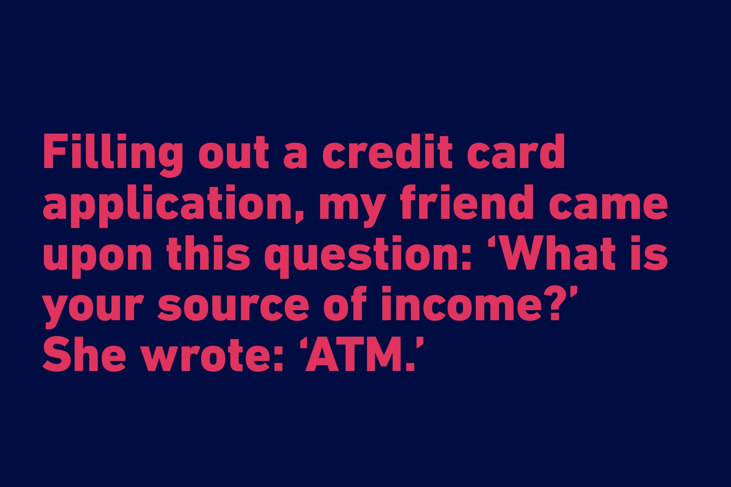 Funniest quotes of all time - ATM