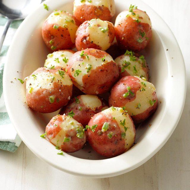 Lemon red potatoes
