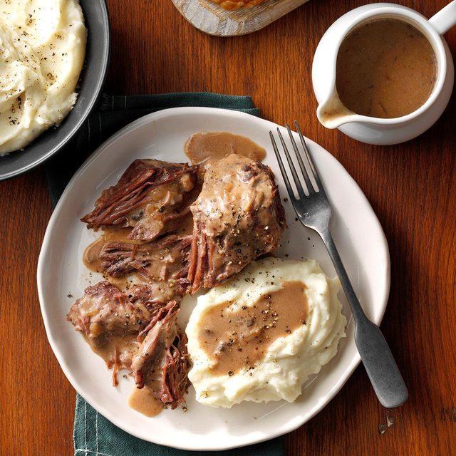Roast beef and gravy recipe
