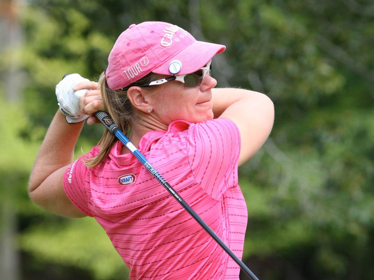 Golfer Annika Sorenstam