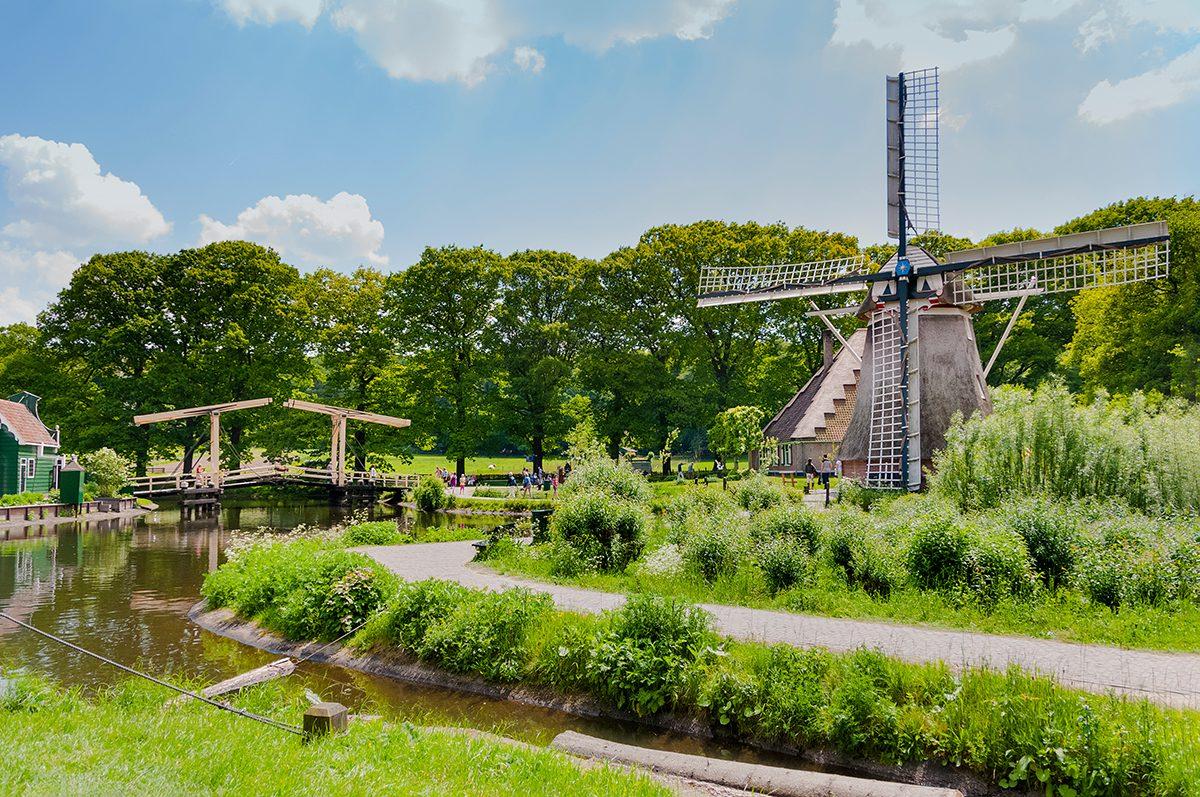 Good news - open air museum, Arnhem, Netherlands