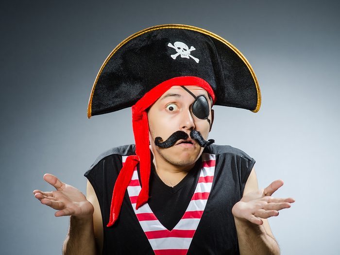 Hilarious tweets - funny pirate