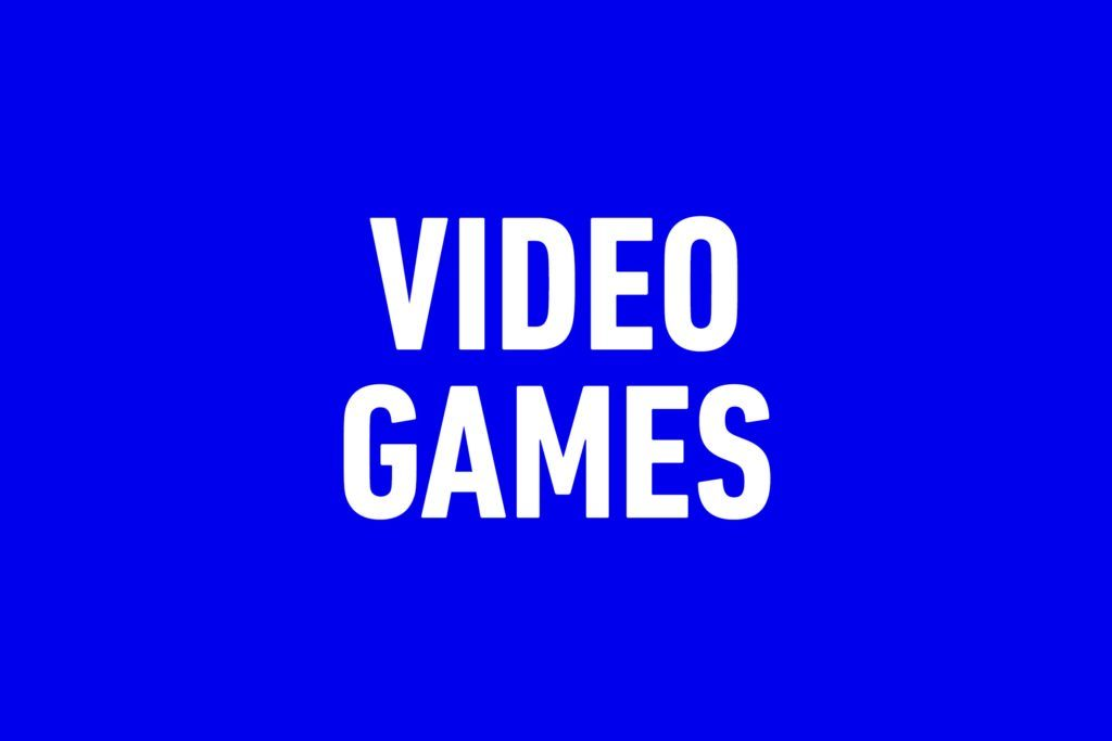Jeopardy categories that stump everyone - Video Games