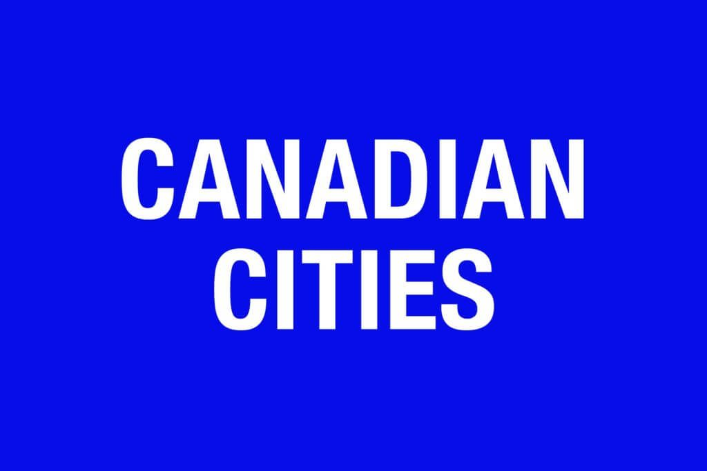 Jeopardy categories that stump everyone - Canadian cities