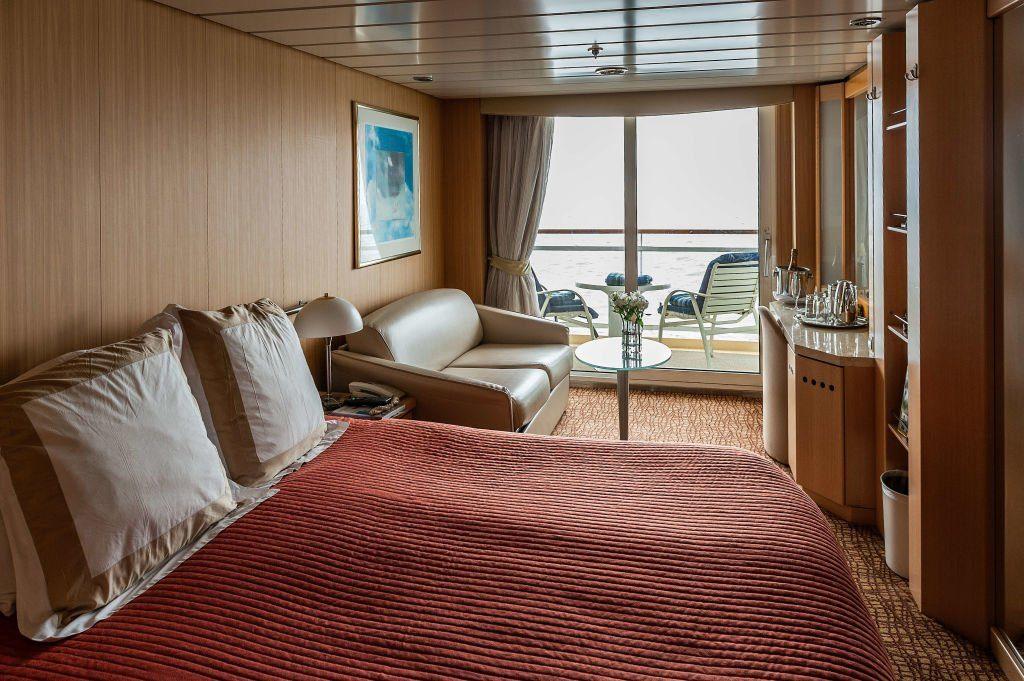 Cruise ship cabin...