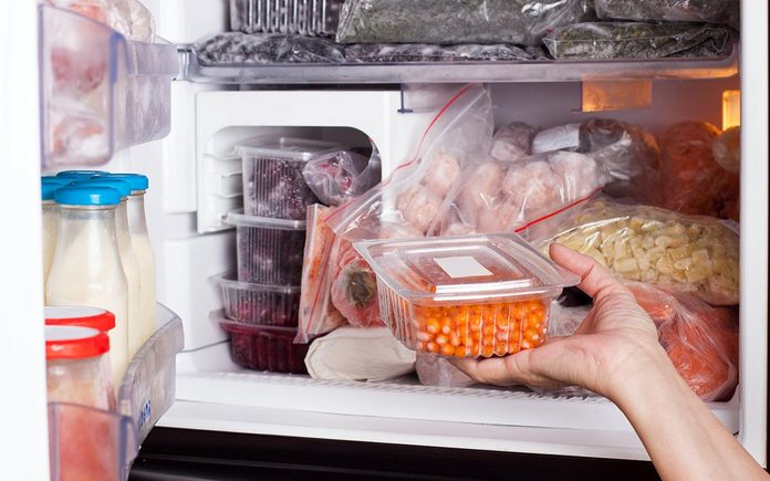 Is your freezer set to the right temperature - frozen food in a freezer set to average freezer temperature