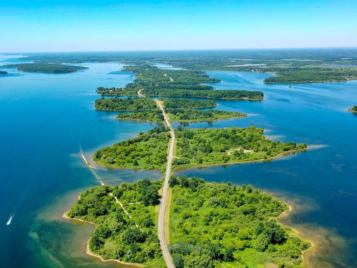 Day trips from Montreal - Long Sault Parkway
