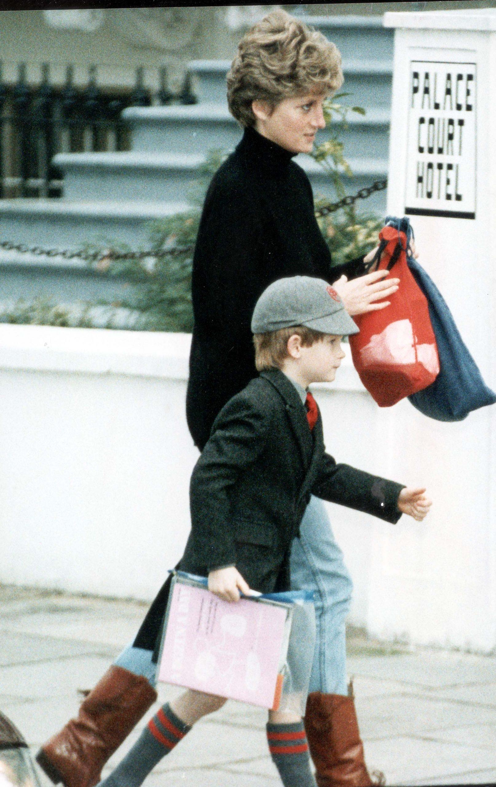 Prince Harry Education 9th Jan 1992