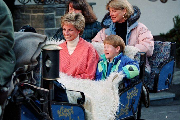 Princess Diana On A Skiing Holiday Lech Austria Mar 1994 Scaled