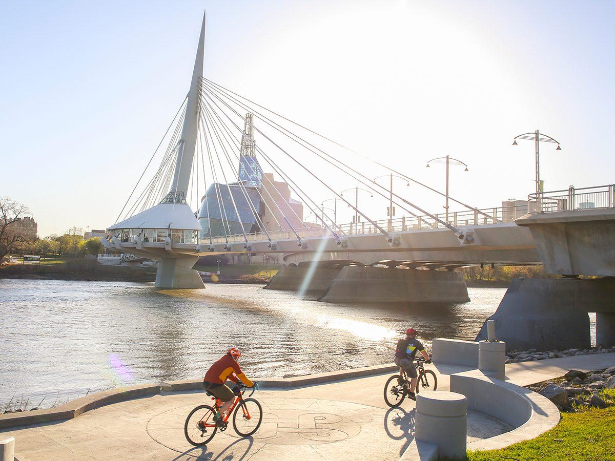 Printable crossword puzzle - bicycling in Winnipeg