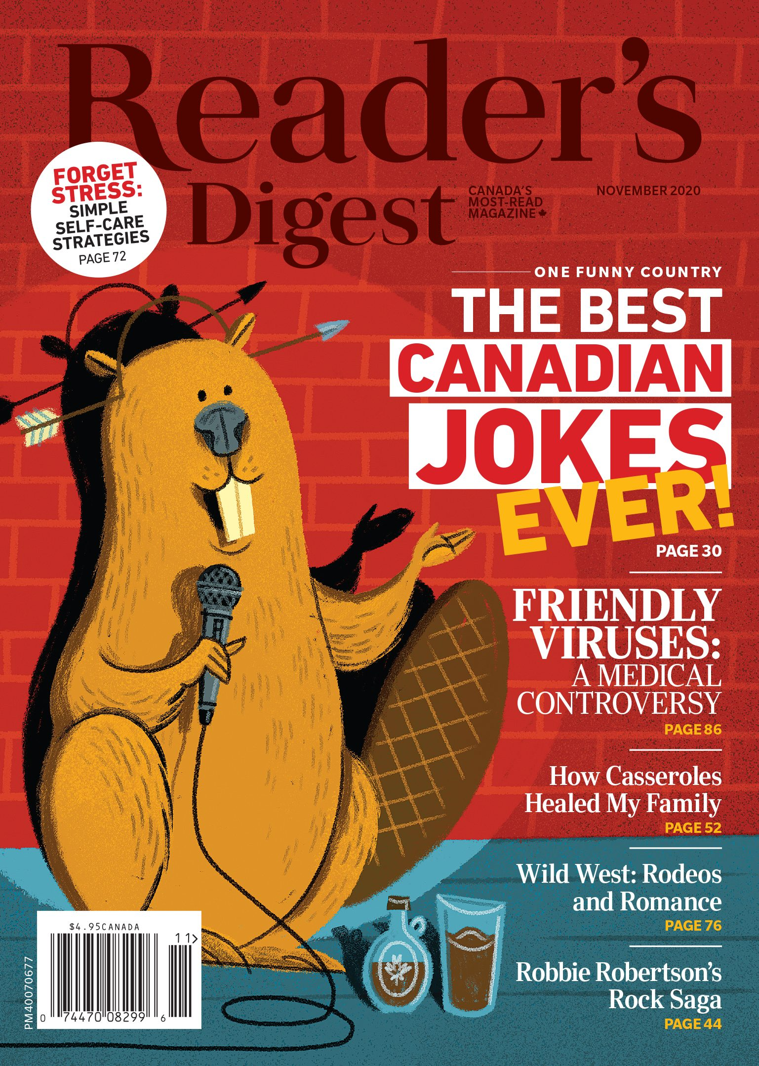 Reader's Digest Canada - November 2020 issue