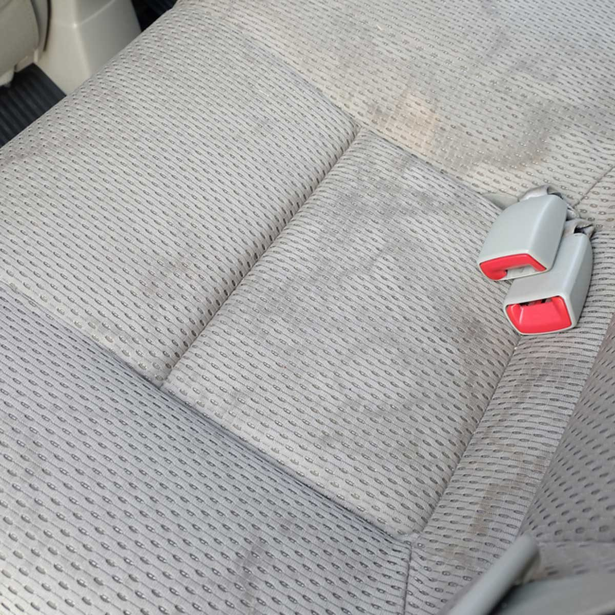 car seat stains
