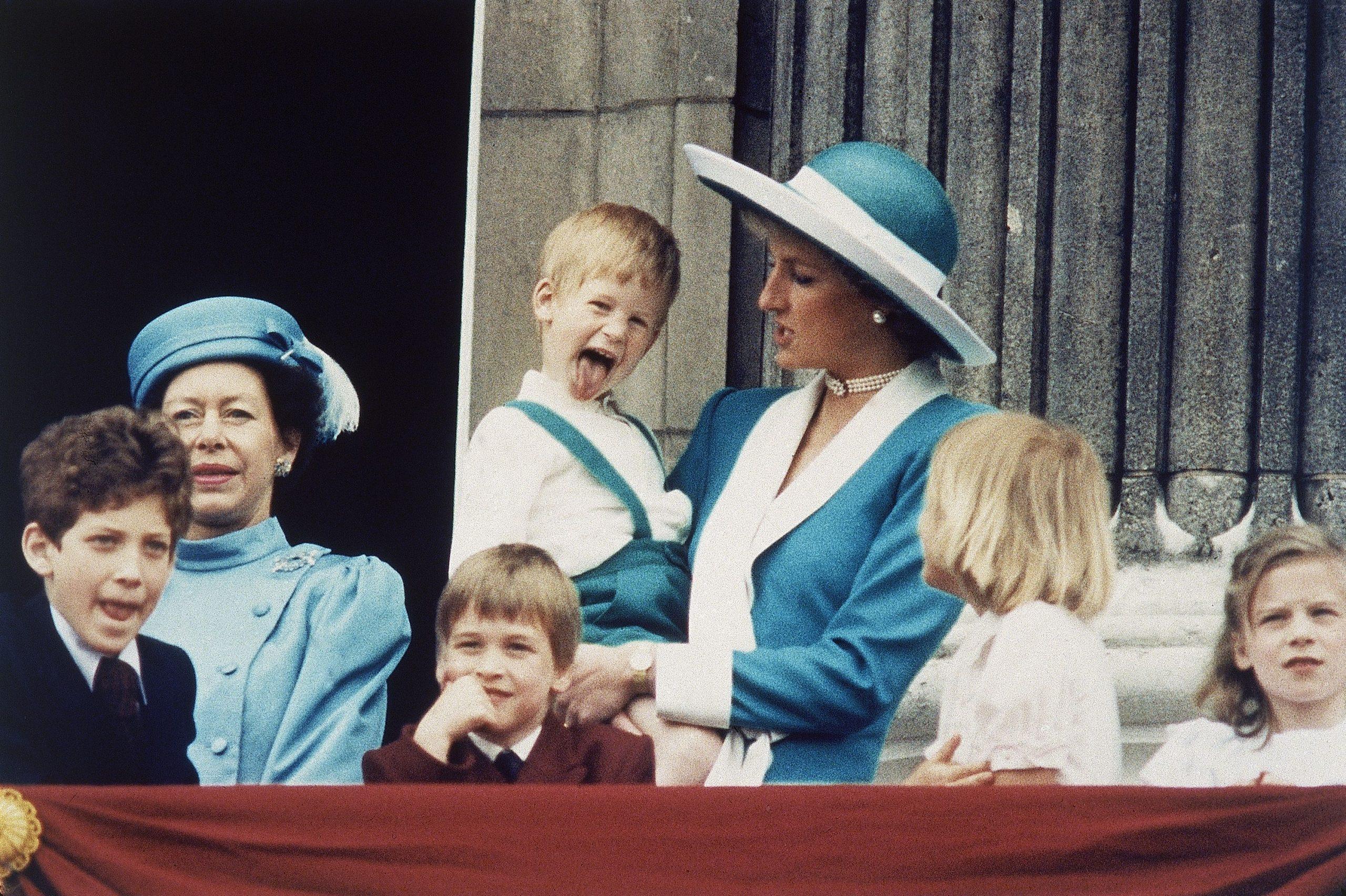 England Prince Harry William and Princess Diana, London